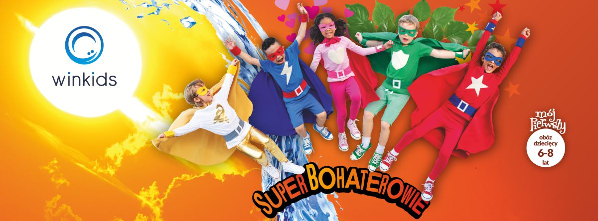 Superbohaterowie WinKids 1200x444